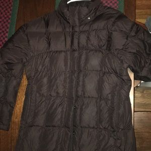 Northface long quilted coat